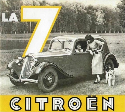 Citroën 7A, nasce la Traction Avant