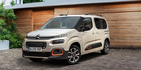 Citroën Berlingo premiato come Best Large Car 2020