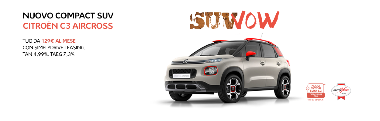 Citroen C3 Aircross Slideshow
