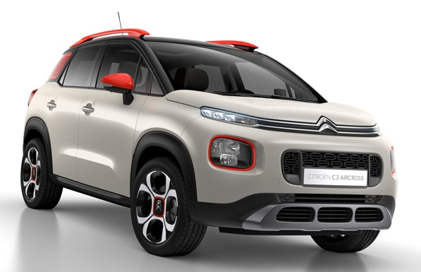 citroen c3 aircross suv compatto tutti i dettagli foto e video citro n italia. Black Bedroom Furniture Sets. Home Design Ideas